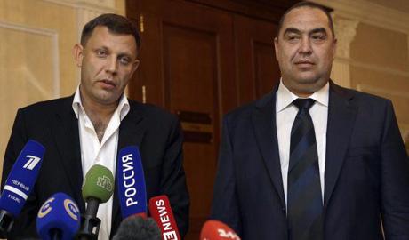 Захарченко и Плотницкий могут попасть в список нон-грата в ЕС