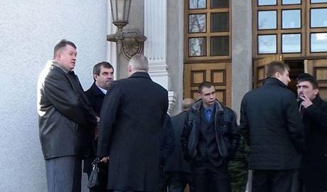 """На """"инаугурацию"""" Захарченко пришел экс-депутат от Партии регионов ФОТО"""