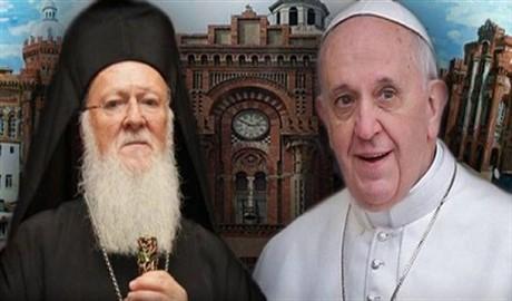 Папа Римский и Вселенский Патриарх Варфоломей объединились в молитве за Украину