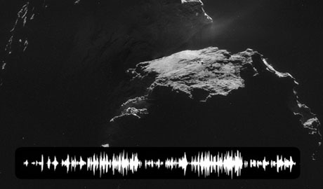 Зонд записал тайное звуковое послание из космоса