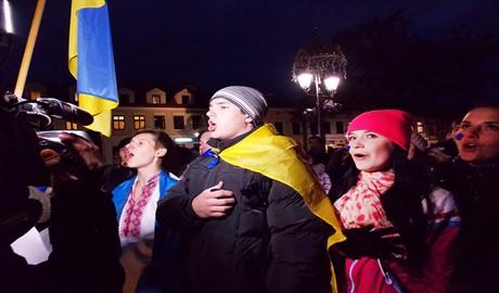 В Киеве студенты устроили марш памяти в честь событий ночи 30 ноября 2013 года