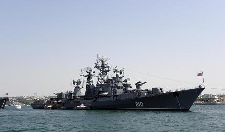 Россия направляет военные корабли, чтобы защищать Ла Манш