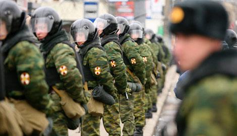 Глава МВД РФ: Революция в России невозможна, ведь любой бунт будет подавлен Внутренними войсками