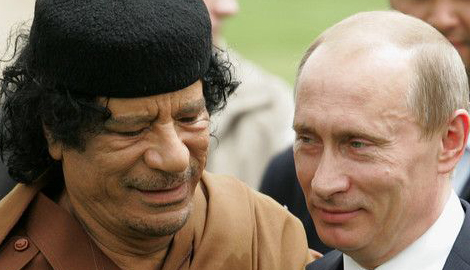 У России два выхода, или Путин закончит как Каддафи, или война