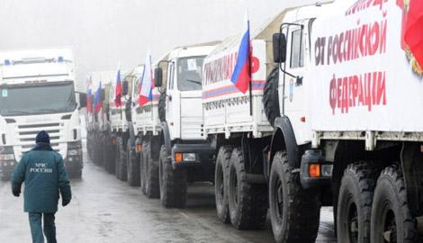 Заботливый Путин: Десятый гумконвой привезет террористам подарки уже 18 декабря