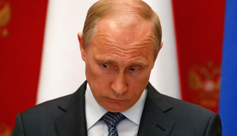 Букмекерская контора Англии принимает ставки на свержение Путина, до конца 2015 года, с коэффициентом 1 к 16
