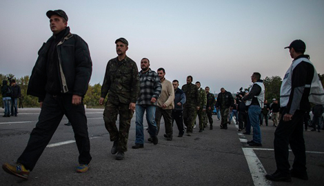 Антон Геращенко: Одиннадцать украинских силовиков освобождено из плена «ДНР»