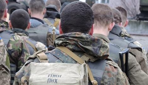 Морские пехотинцы из Феодосии отправились в зону АТО