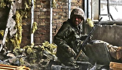 Андрей Цаплиенко: Киборги оставили старый терминал Донецкого аэропорта, но нашлись отчаянные ребята, что вернулись