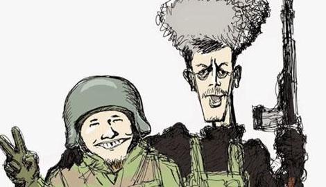 Справжній героїзм росіян або чому очкова змія заважає жити