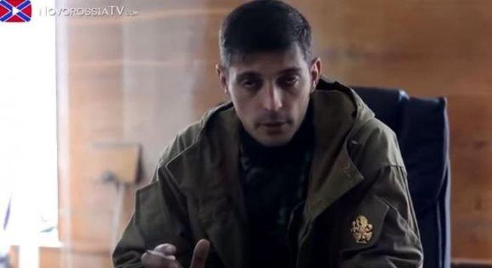 Главарь террористического батальона «Спартак» — «Гиви», опять объявился