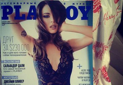 Сексуальная Агния Дитковските  снялась в фотосессии для Playboy