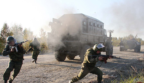 Через значительные потери военного спецназа на Донецк перебрасывают спецназ Внутренних войск МВД РФ