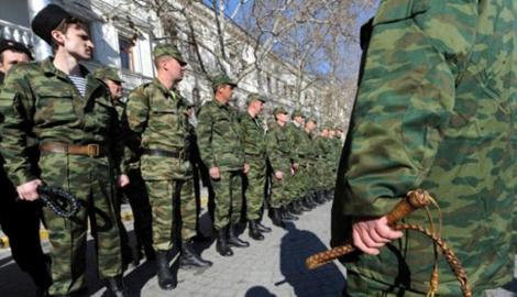 С Красного Луча исчезли русские казаки, вместо них появились регулярные войска РФ