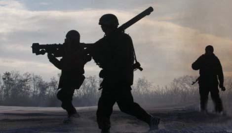На кануне «дня тишины» боевики 64 раза атаковали позиции сил АТО