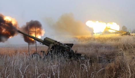 Новосозданная 44 бригада артиллеристов в ближайшее время направится в АТО