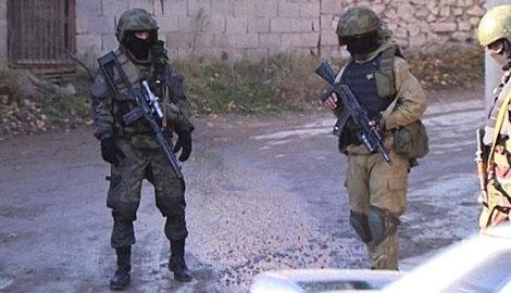 В столице Дагестана ополченцы напали на правоохранителей
