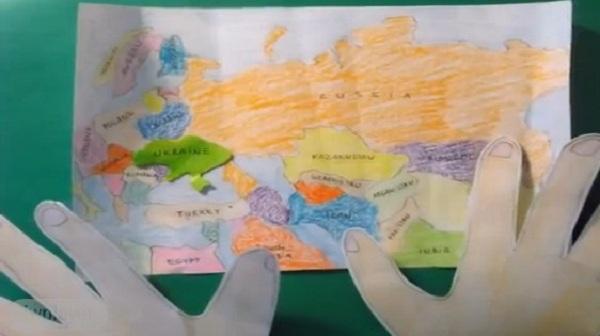 Даже школьники уверены, что Украина победит. Одиннадцатилетний киевлянин снял мультфильм про войну на Донбассе  (ВИДЕО)