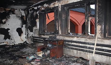 «Кремлевские каратели» сжигают дома родственников боевиков (ФОТО)