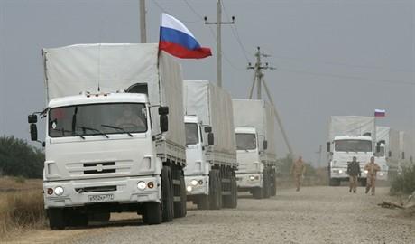 В Украину прибудет уже десятый «гумконвой» из России