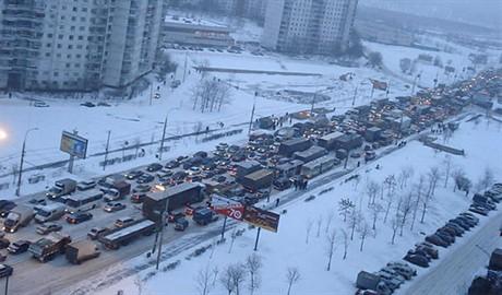 В Москве зафиксировано самые большие заторы в истории