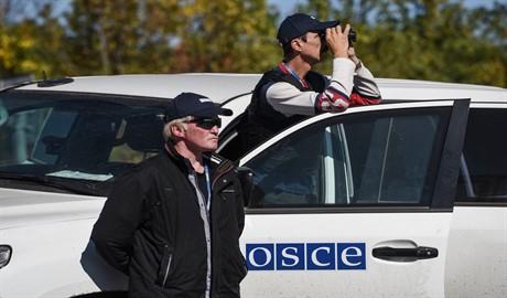ОБСЕ будет контролировать территории боевиков на Донбассе