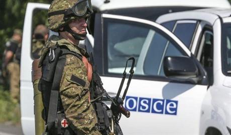 Работа ОБСЕ на границе заблокирована РФ