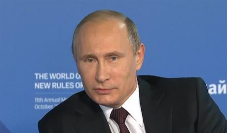 Путин удалил из своей речи антиукраинский текст