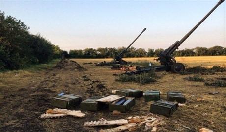Село Пески вновь попало под обстрел