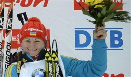 Украина вперед! Валя Семеренко выиграла бронзу в индивидуальной гонке Кубка мира!