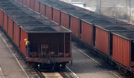 Около 900 вагонов с углем заблокировано на Донбассе