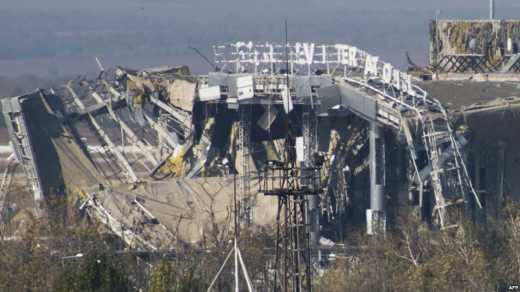 Возле Донецкого аэропорта появились две самоходные установки «Нона», которые ведут огонь как по террористам так и по ВСУ