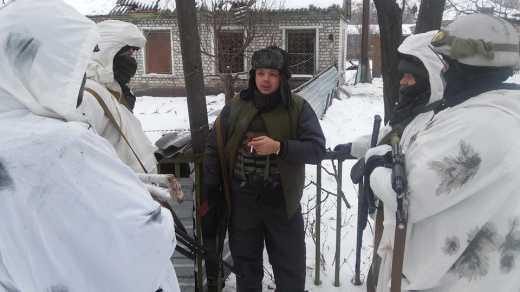 Семен Семенченко провел совещание с Луганскими партизанами