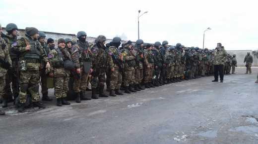 """Вторая штурмовая рота батальона """"Донбасс"""" отправилась в зону АТО, – Семен Семенченко"""