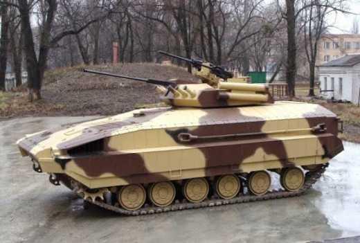 Харьковские конструкторы создали для ВСУ  новую военную единицу, которая должна заменить устаревшие БМП-2 и БМПТ-64
