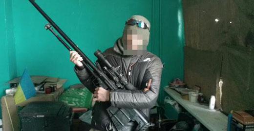 В результате боев за АП 13 января, киборги получили эксклюзивные трофейные винтовки производства РФ