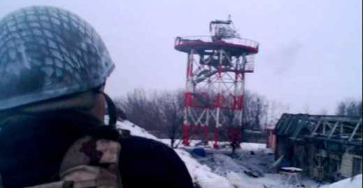 Украинские военные опубликовали видеофрагмент вчерашнего боя
