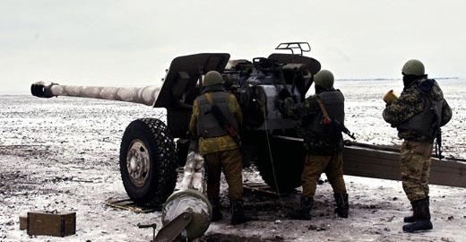 Потери террористов колоссальные, наша артиллерия экстрасенсы, бьют точно в скопление живой силы противника, – боец 95-й бригады из под Дебальцево