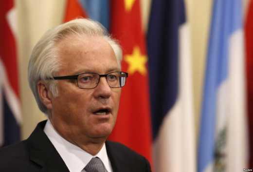 Постпред РФ при ООН Чуркин: На территории Украины закрыли всю русскоязычную прессу