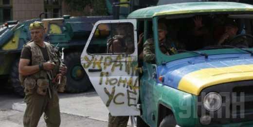 Бойцы батальона «Айдар» на фронте, а в Киеве люди народного депутата Мельничука, —  Юрий Касьянов