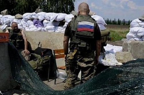 Сегодня, 9 января неизвестные уничтожили блокпост террористов «ЛНР» убив 6 боевиков