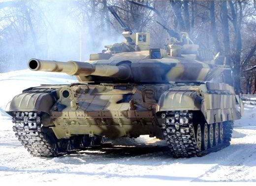 В районе 29-го и 31-го блокпостов состоялась танковая дуэль, победу в которой получили танкисты ВСУ, – пресс-служба АТО