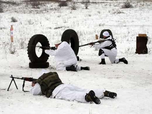 В зоне антитеррористической операции проходит обучение армейская разведка, – штаб АТО