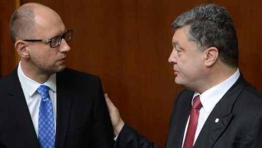 В ЕС не видят практических реформ от Яценюка и Порошенко, а только обещания