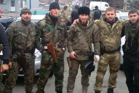 В Донецке количество кадыровских наемников выросло до 4 тысяч