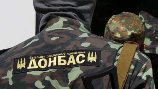 """Бойцы батальона """"Донбасс"""" посетили Арсена Авакова с просьбой ускорить их отправку в зону АТО"""