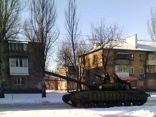 Украинские войска вошли в Донецк, террористы в панике, — Андрей Дзиндзя