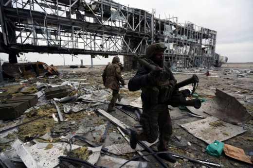 Вооруженные силы Украины продолжают зачистку территории Донецкого аэропорта, — пресс-центр АТО