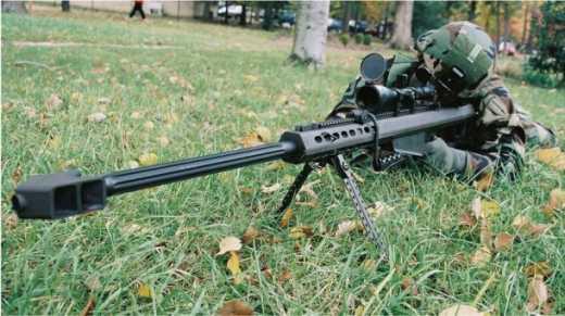 В подразделения Сил специальных операций Украины начали поступать снайперские винтовки Баррет 50 bmg