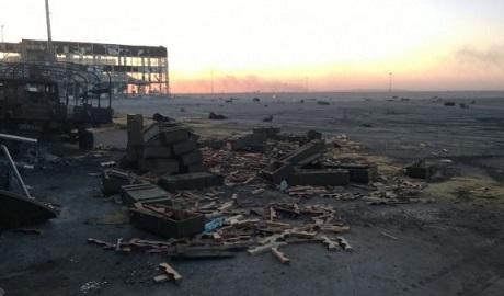 Украинские военные потеряли контроль над старым терминалом